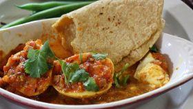 Uova di anatra al curry