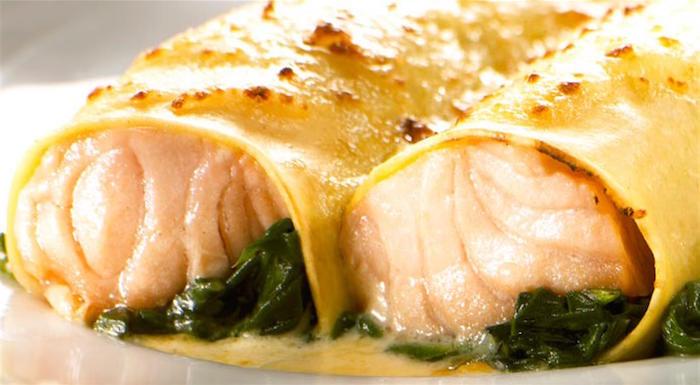 Cannelloni al salmone - Microonde