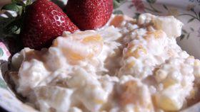 Crema di riso alla frutta