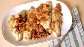 Filetto di persico alle mandorle