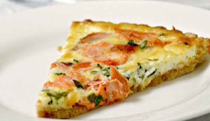 Ricetta Omelette Salmone.Ricetta Frittata Di Caprino E Salmone Le Ricette Di Buonissimo