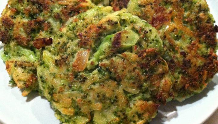 Frittelle di broccoli e grano saraceno
