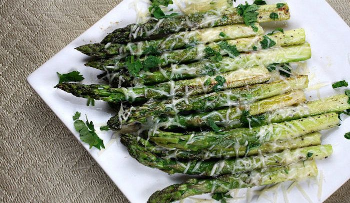 Parmigiana di asparagi - Microonde