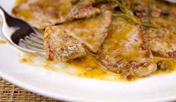 Scaloppine alla livornese