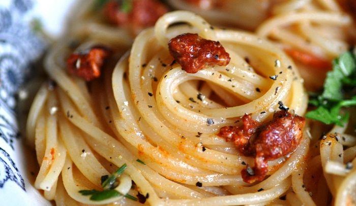 Spaghetti con i ricci alla gallipolina