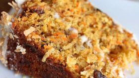 Dolce di carote al cocco