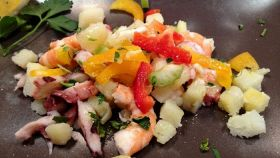 Frutti di mare Baiti con verdure