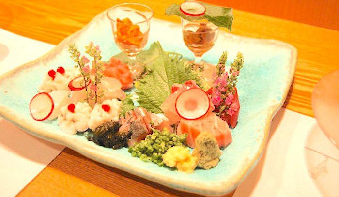 Insalata ebi no o-sashimi