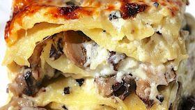 Lasagne al tartufo e funghi porcini
