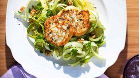 Ricotta al forno con insalata