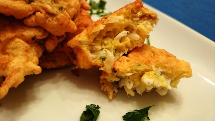 Sardine fritte all'aglio