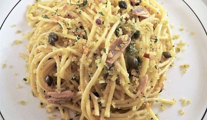 Spaghetti siciliani con sardine