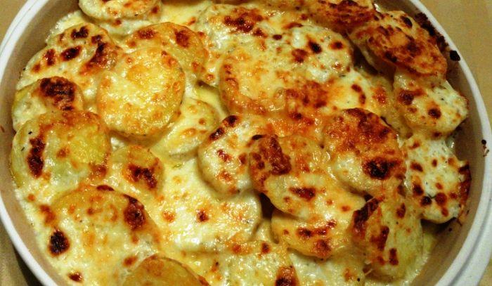 Tortino di patate al formaggio