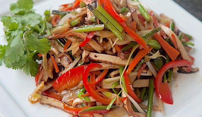 Verdure saltate alla cinese