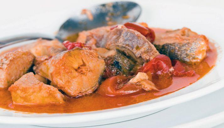Classica zuppa di pesce italiana
