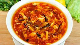 Zuppa piccante del Sichuan