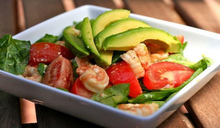 Insalata pomodorini e avocado