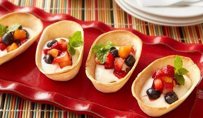 Barchette di frutta