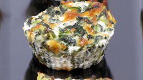Budino di risotto e spinaci