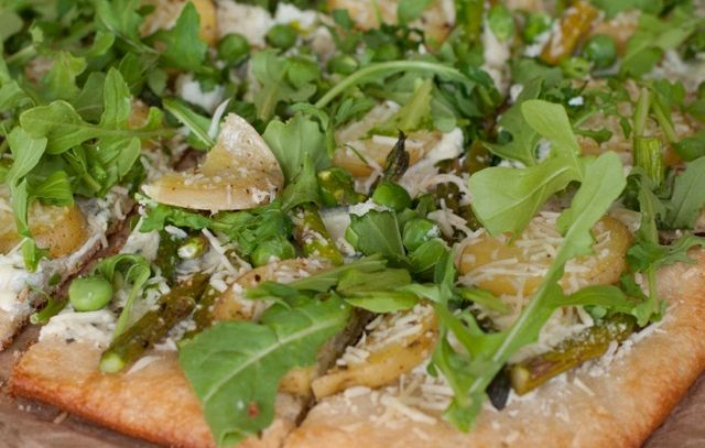 Pizza rucola e patate