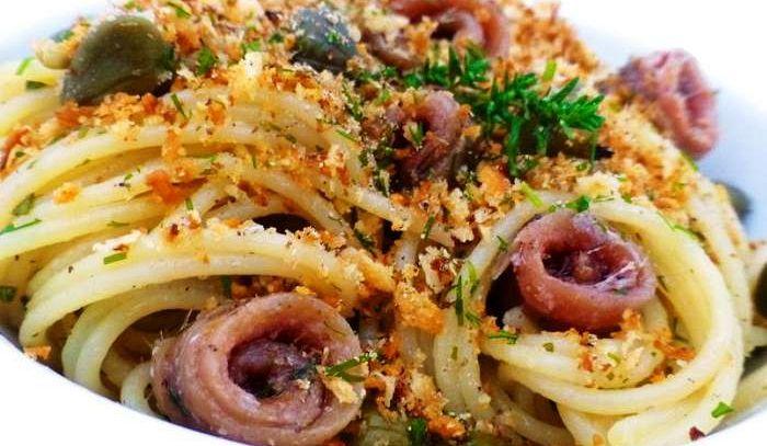 Spaghetti alle alici