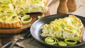 Torta salata ai porri