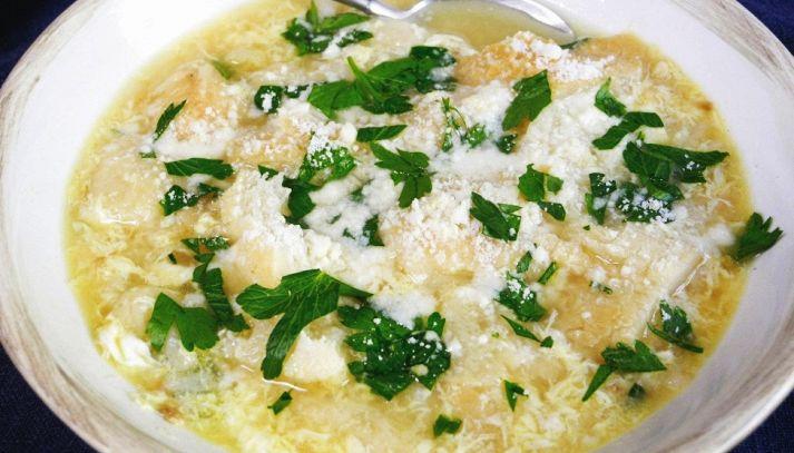 Zuppa d'aglio alla contadina