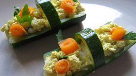 Cestini di zucchine