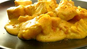 Crostoni di polenta al curry