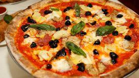 Pizza alle quattro stagioni