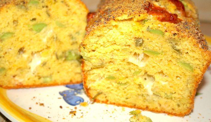 Plumcake con le fave