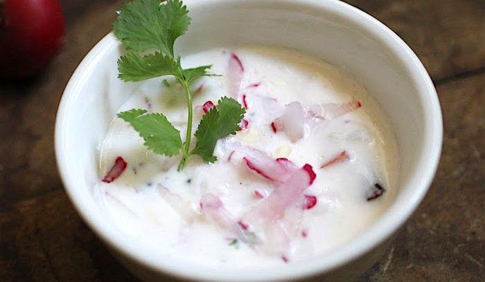Ravanelli con lo yogurt