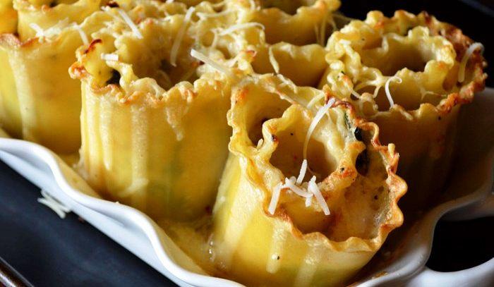 Rotolo di lasagne alla ligure