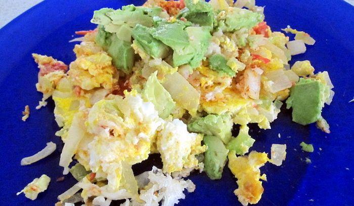 Sedani alle uova strapazzate
