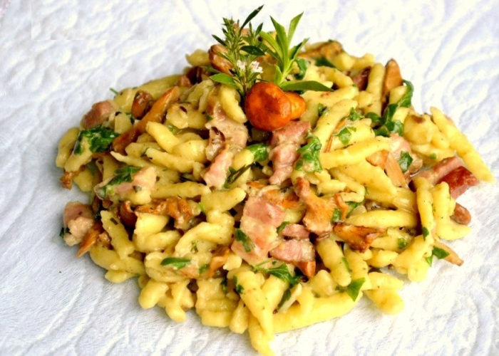 Ricette Gnocchetti Verdi Tirolesi.Ricetta Spatzli Alla Tirolese Le Ricette Di Buonissimo