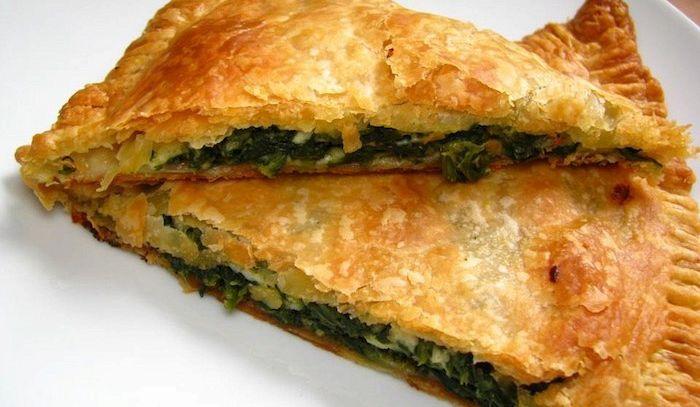 Torta di spinaci e parmigiano