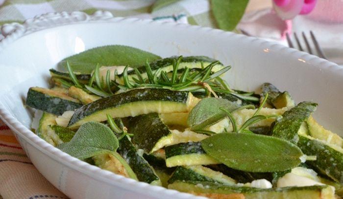 Zucchine e uova in carpione