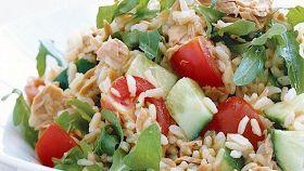 Insalata di riso senza sottaceti (da preparare prima)