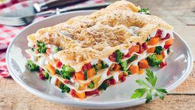 Lasagne gustose, vegetariane, perfette per il pranzo della domenica