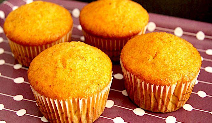 Ricetta Muffin Alle Carote.Ricetta Muffins Di Carote Le Ricette Di Buonissimo