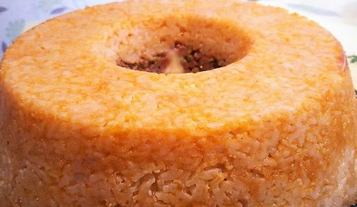 Pasticcio di riso e manzo al latte