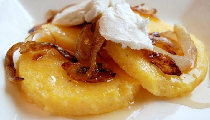 Polenta di patate e formaggio