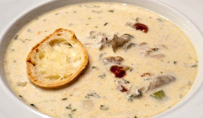 Zuppa di ostriche