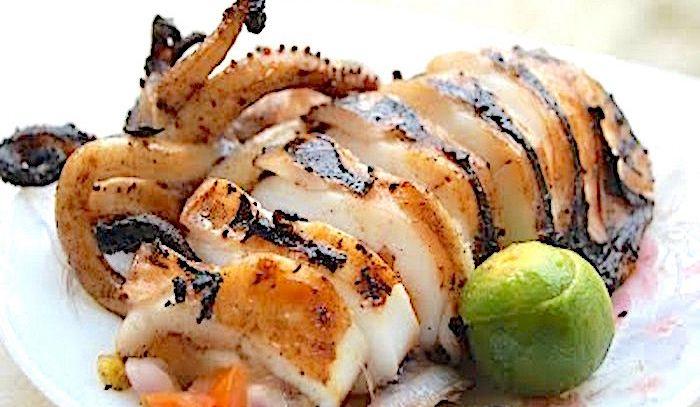 Calamari arrosto