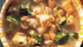 Stufato di eglefino e broccoli