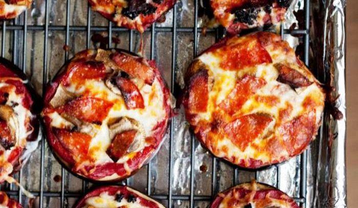 Melanzane a pizza
