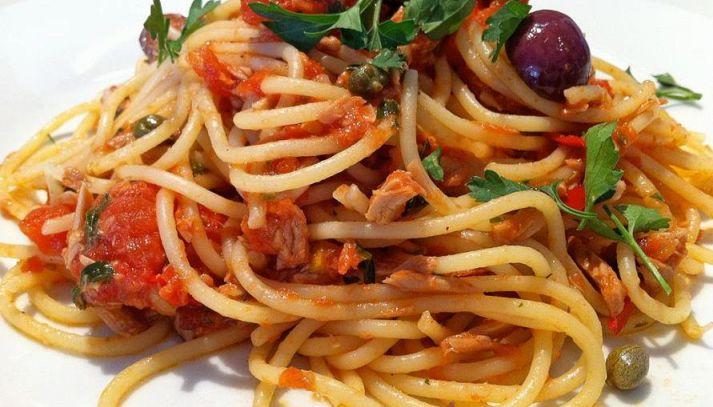 Spaghetti al coniglio
