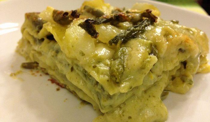 Timballo di lasagne verdi