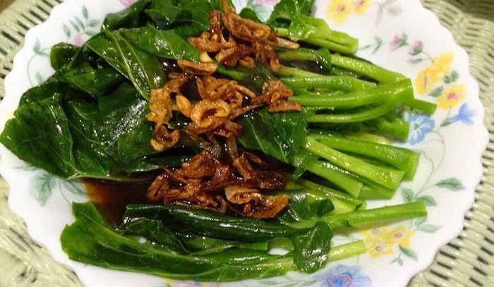Fritto di verdure in salsa di scalogni
