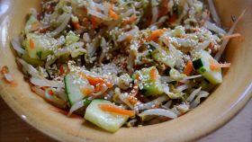 Insalata ai germogli di soia